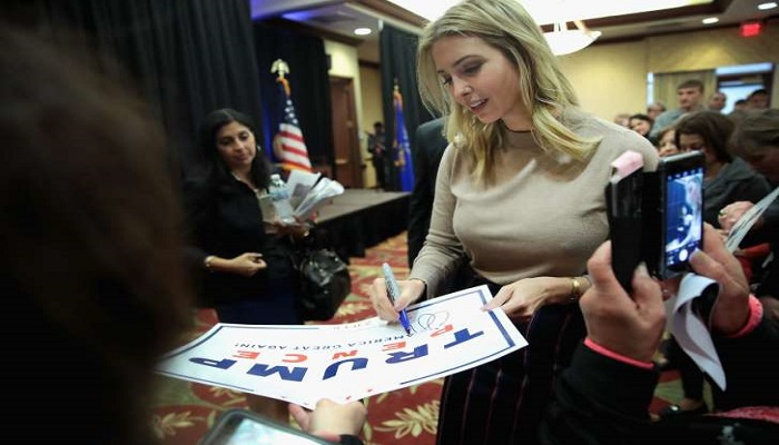 Ivanka Trump is a candidate for the presidency of the World Bank Image