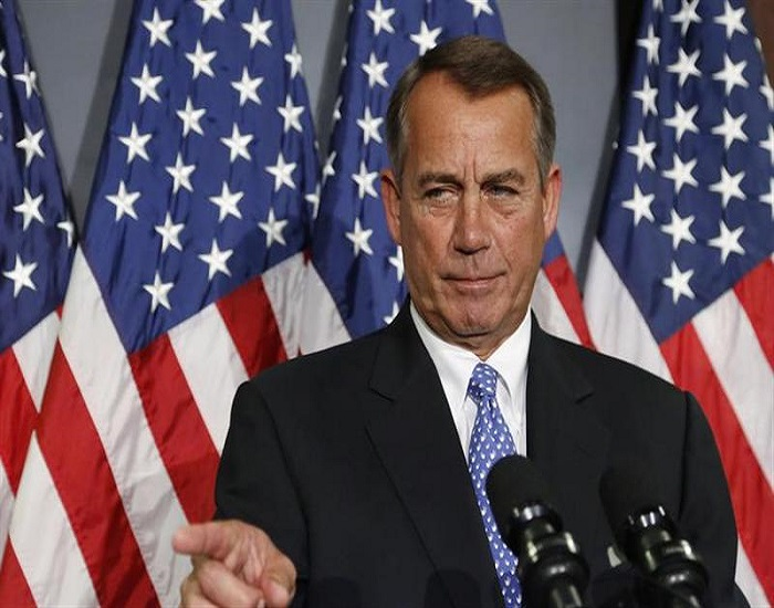 Boehner - US military commanders in Iraq - their hands are tied and the use of Iran is embarrassing