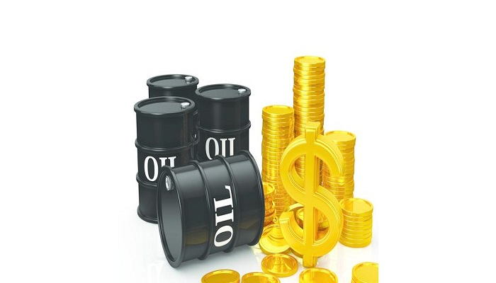 Foreign exchange gold and oil prices rose Tuesday