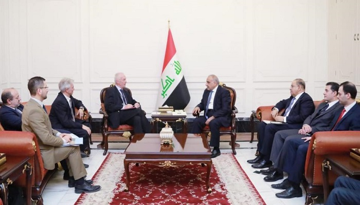 The European Union renews its support for Iraq in the pursuit of terrorist cells and military and security areas Image