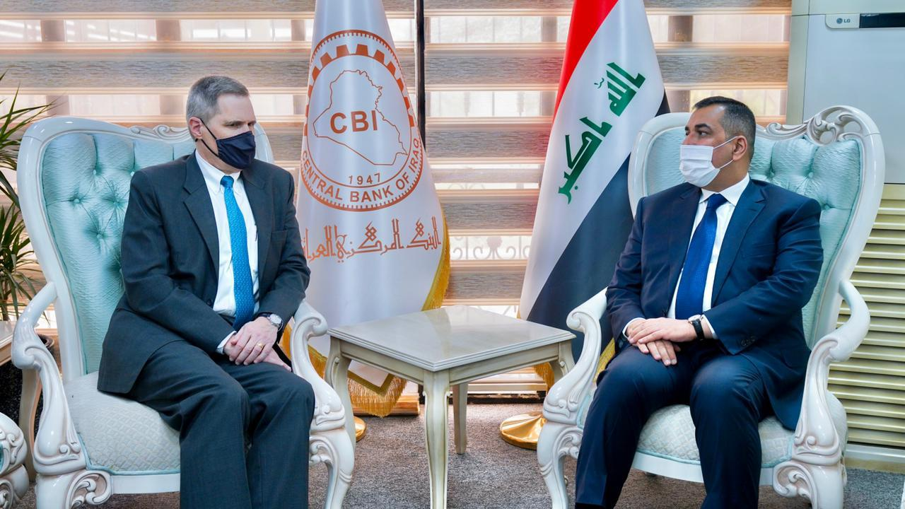 Washington is ready to support the Central Bank and the Iraqi banking sector