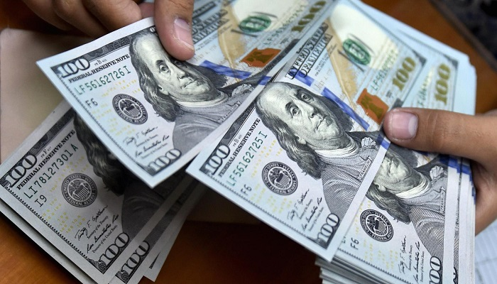 The Dollar is trading lower today